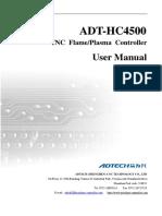 HC4500 English Manual