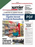 Le Courrier d'Algérie du lundi 16 mai 2016