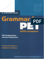 Cb Grammar for PET