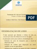 Filtro Prensa e Prensa Desaguadora