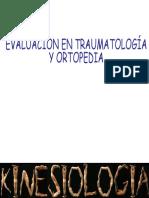 Evaluacion en Traumatología