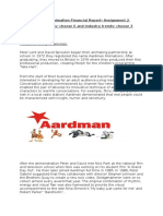 aardman animation financial report