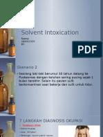 Solvent Intoxication - Sunny