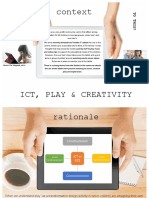 ict play   creativity poster with references