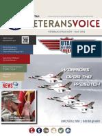 Utah Veterans Voice, May 2016