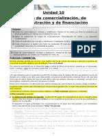 Unidad 10 - Costos de Comercializacion Adm y Finan
