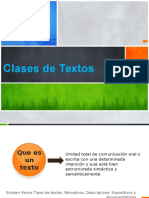 Clases de Textos 10º