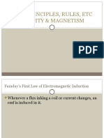 Chapter 1 - Electricity and Magnetism