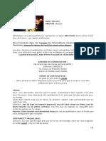 DELABY Bernard - Invitation Grand Quiz TF1