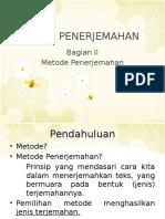 Metode-Penerjemahan