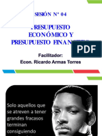 Sesion Nº 04 - Presupuesto Económico y Presupuesto Financiero -Marketing- Vi-2015-II