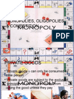 monopolies   competition