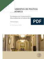 2014 50 - Estrategias de Comunicación y efectividad de la Política Monetaria.pdf
