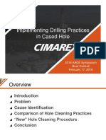 Implementing Drilling Practices in Cased Hole - B. Cantrell