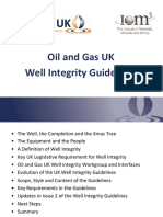 Oil & Gas Well Integrity Guidelines