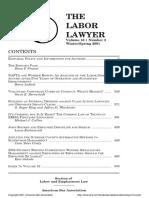 Labor Lawyer Basics