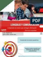 Comprendo Los Textos Que Entregan Información Discurso Expositivo 2016