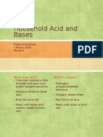 household acid and bases