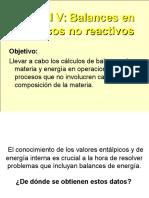 5. Balances en Procesos No Reactivos