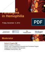 Emerging Hemofilia