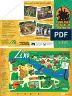 Map of the Erie Zoo