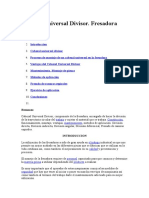 Cabezal Universal Divisor
