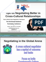Tips on Negotiating Better in Cross-Cultural Relationships--SWSMC Presentation