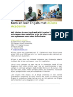 A Class English Dutch Translation