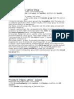 Vendor Group and Vendor.docx