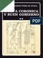 Nueva Coronica y Buen Gobierno de Felipe Guaman Poma de Ayala en PDF
