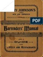 1934 Harry Johnson's Bartenders' Manual
