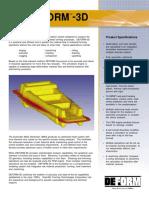 Brochure DEFORM 3D