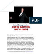 100 Card Tricks