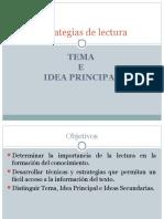 Clase 3 Idea Principal