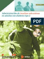Administracion de Insulina Subcutanea en Adultos Con Diabetes Tipo 2
