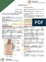 Reumatologia I