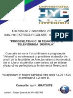 Curs Tv Bpuh