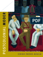 Postcolonial Modernism Art and Decolonization in Twentieth-Century Nigeria