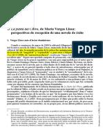 Vargas Llosa Chivo Crítica