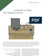 Trabajo por proyectos y blogs, una sintonía perfecta-Blanco