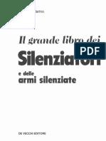 Armi Silenziate Silenziatori Pistole Fucili Mitragliatori Carabine Costruzione Il Grande Libro Dei Silenziatori Testo Ritirato Dal Mercato