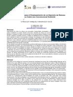 Estudio Geotécnico Para El Emplazamiento de Un Depósito de Relaves Espesados Sobre Uno Convencional Existente