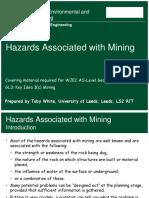Wjec Mining Hazards