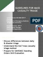 SALT Triage for GMVEMSC Standing Orders JB DNG Vers. 3.1
