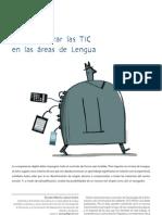 Cómo integrar las TIC en las áreas de Lengua-Larequi