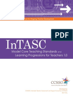 intasc learning progressions for teachers
