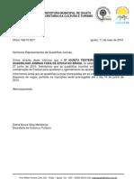 Oficio 168/10 5º Iguatu Festeiro - Informe de Adiamento