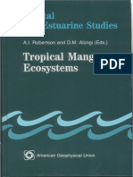 Tropical Mangrove Ecosystem Book