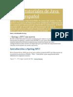 Guias y Tutoriales de Java JEE en Español