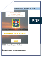 Carpeta pedagogica 2016